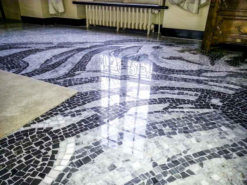 Restauration sol granito